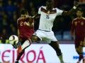 Antonio Rüdiger im DFB Trikot beim Länderspiel gegen Spanien (Foto AFP)