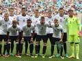 Die deutsche Männer U23-Fußballnationalmannschaft bei den Rio 2016 Olympischen Spielen. / AFP PHOTO / NELSON ALMEIDA