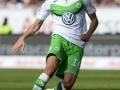 Wolfsburg's Mittelfeldspieler Julian Draxler beim Bundesligaspiel gegen FC Ingolstadt v VfL Wolfsburg, in Ingolstadt , on September 12, 2015.  AFP PHOTO /  THOMAS KIENZLE