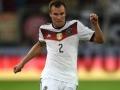 Kevin Grosskreutz im 4-Sterne DFB Trikot 2015 (Foto AFP)