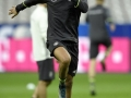 DFB-Stürmer Leroy Sane beim Training im Stade de France stadium in Saint-Denisam 12.November 2015 vor seinem ersten Länderspiel Deutschland gegen Frankreich.  AFP PHOTO / FRANCK FIFE