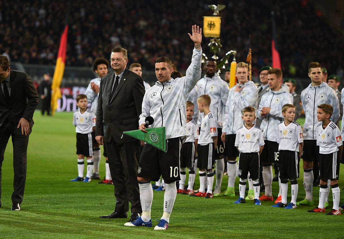 Abschied Poldi