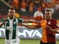 Galatasaray Istanbul: Lukas Podolski am 4.Juli 2015 in der TT Arena in Istanbul.  AFP PHOTO / ADEM ALTAN