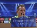 Marc-Andre ter Stegen auf einer Pressekonferenz für den FC Barcelona (AFP PHOTO / JOSEP LAGO)