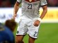 Mario Gomez beim Freundschaftsspiel gegen Argentinien in Duesseldorf, Germany, on September 3, 2014. AFP PHOTO / PATRIK STOLLARZ