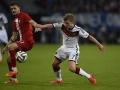 Maximilian Meyer beim Spiel gegen Polen im Mai 2014 (Foto AFP)
