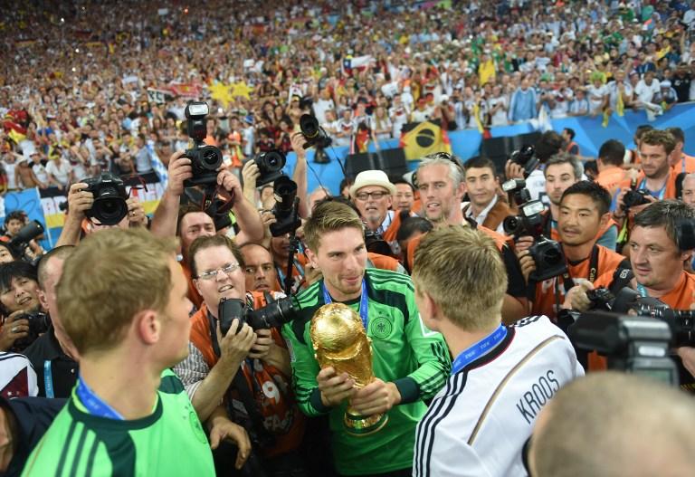 Ron Robert Zieler ist Weltmeister! (Foto AFP)