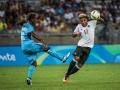 Serge Gnabry gegen Fiji bei Olympia 2016 in Rio. AFP PHOTO / GUSTAVO ANDRADE