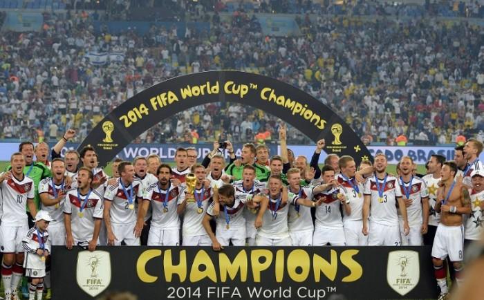 Weltmeister 2014 Deutschland - auch wieder bei der WM 2026 der Favorit? (Foto AFP)