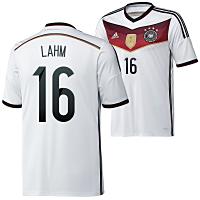 Philipp Lahm mit der 16 im Wm 2014 Trikot!