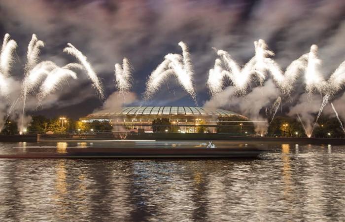 Nationalstadion von Moskau