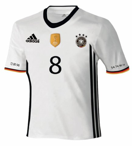 Deutschland Trikot 2016 (Copyright Express)