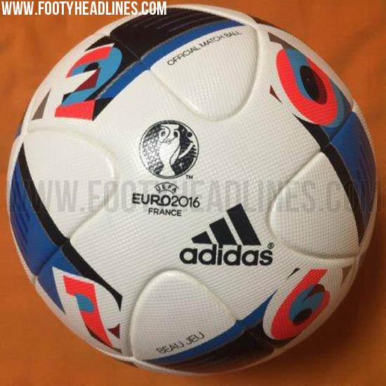 Der neue EM 2016 Spielball