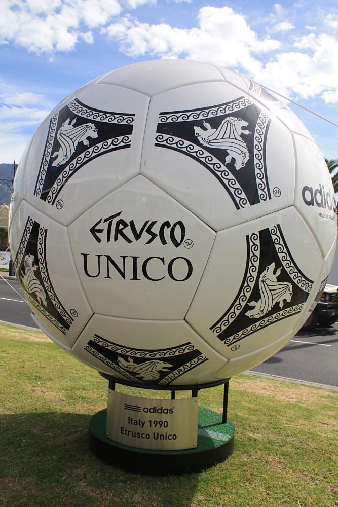 Etrusco Unico WM Ball 1990 (Quelle:eigenes Archiv)