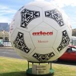 azteca adidas wm Spielball 1986 (Quelle: eigenes Archiv)