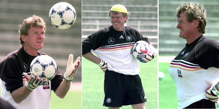 Sepp Maier bei der wM 1998 als Torwarttrainer. (ELECTRONIC IMAGE)