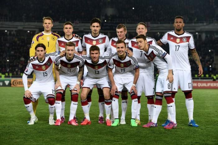 DFB Startaufstellung gegen Georgien (AFP Photo)