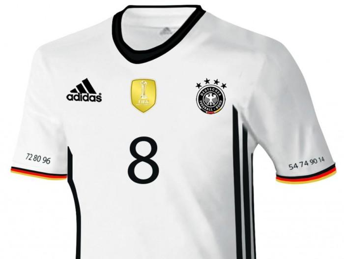 Das neue Deutschland Trikot 2016