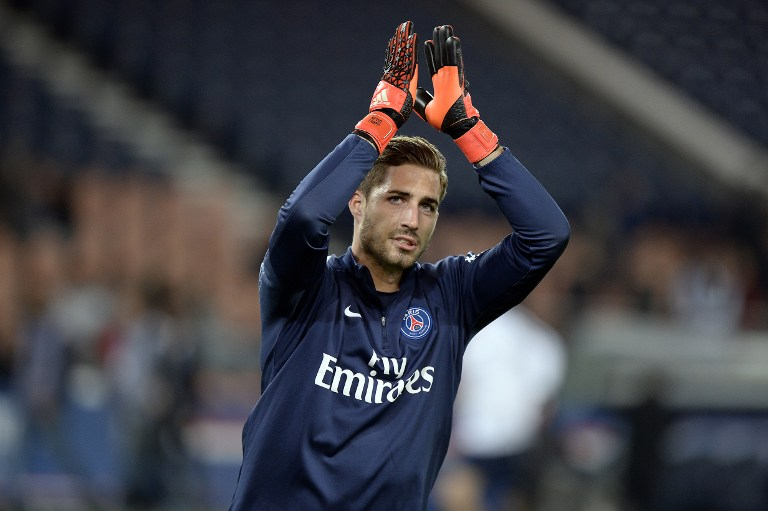 Paris Saint-Germain's Torwart Kevin Trapp. AFP PHOTO / MIGUEL MEDINA