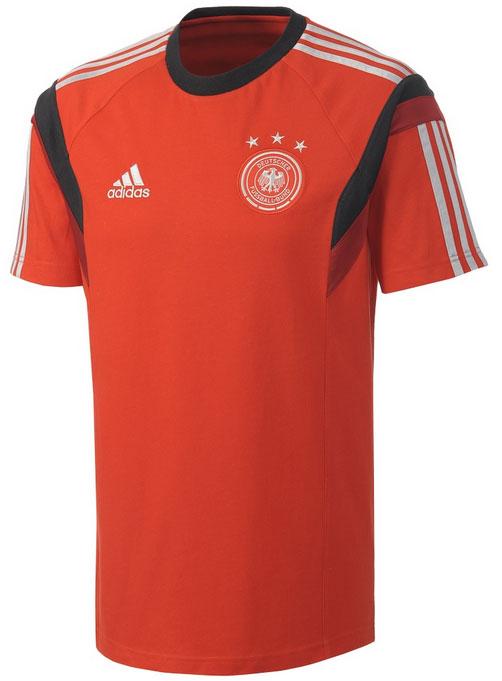 Adidas DFB Deutschland T Shirt Staff