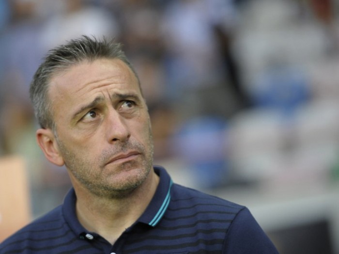 Portugal's Trainer Paulo Bento. AFP PHOTO/ MIGUEL RIOPA