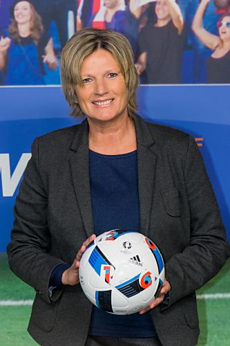 Claudia Neumann vom ZDF (Copyright: ZDF/Svea Pietschmann)