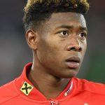 David Alaba: Österreichischer Nationalspieler und Bayern München Star.    AFP PHOTO / JOE KLAMAR /