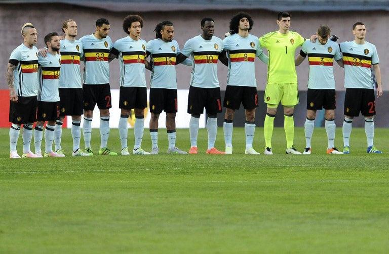 Belgien-Auswärtstrikot