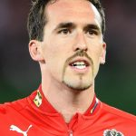 Christian Fuchs: Österreichischer Nationalspieler und Leicester City Star. AFP PHOTO / JOE KLAMAR