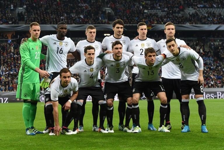 Die deutsche Startelf gegen Italien