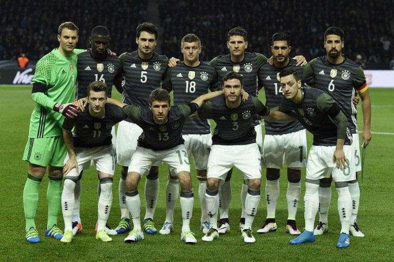 Deutschland-Auswärtstrikot