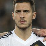 Belgium's Mittelfeldspieler Eden Hazard vor dem EM 2016 Qualispiel gegen Israel. AFP PHOTO / JACK GUEZ
