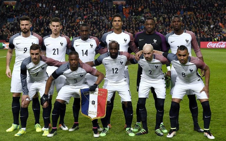 Frankreich-Auswärtstrikot