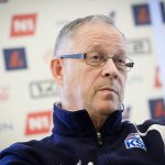 Lars Lagerback: Nationaltrainer von Island. AFP PHOTO / BELGA PHOTO / LAURIE DIEFFEMBACQ