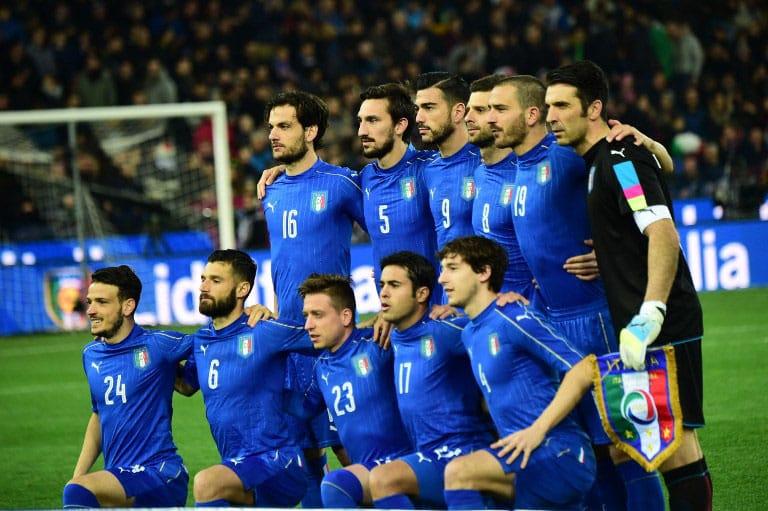 Italien-Heimtrikot