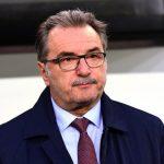 Ante Cacic : Trainer von Kroatien.AFP PHOTO / ATTILA KISBENEDEK