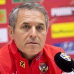 Marcel Koller: Nationaltrainer von Österreich. AFP PHOTO/JONATHAN NACKSTRAND