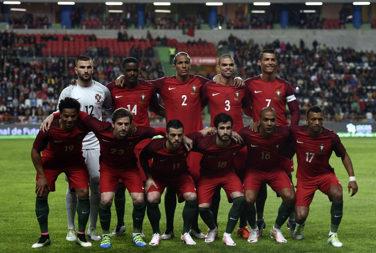 Portugal-Heimtrikot