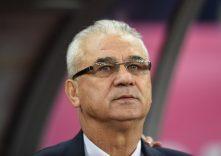 Anghel Iordanescu: Nationaltrainer von Rumänien. AFP PHOTO / DANIEL MIHAILESCU