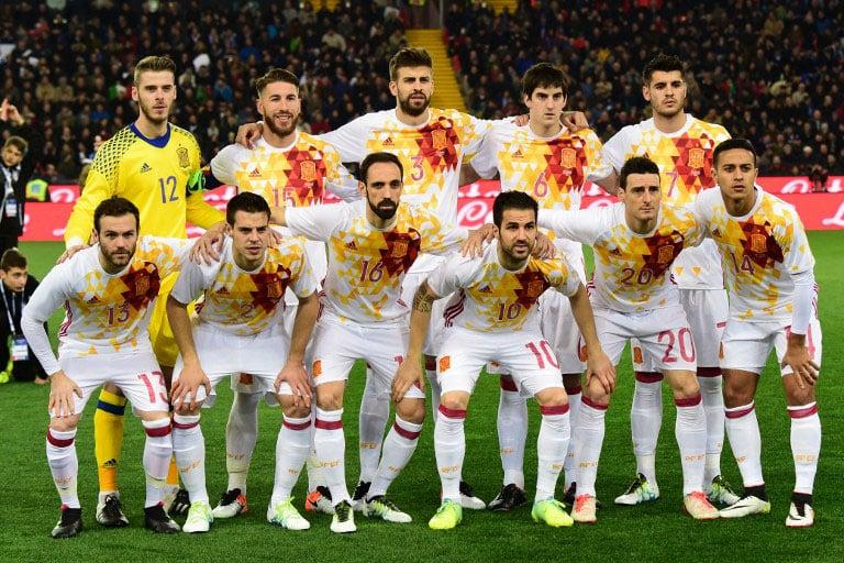Spanien-Auswärtstrikot