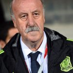 Spaniens Trainer Vicente del Bosque. AFP PHOTO/EMMANUEL DUNAND