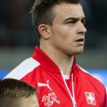 Xherdan Shaqiri: Schweizer Nationalspieler und Stoke City Star. AFP PHOTO / VLADIMIR SIMICEK