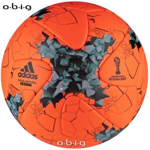 Der Spielball zum Confed Cup 2017 in der Winterversion