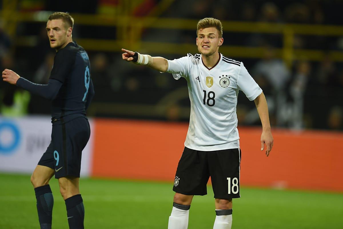 Joshua Kimmich gegen England am 22.März 2017 in Dortmund / AFP PHOTO / PATRIK STOLLARZ