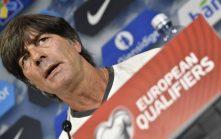 Bundestrainer Joachim Löw in der DFB-Pressekonferenz vor dem Länderspiel gegen Tschechien/ AFP PHOTO / John MACDOUGALL