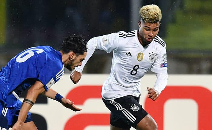 Serge Gnabry - einer der jungen Wilden im DFB-Trikot! (Foto AFP)