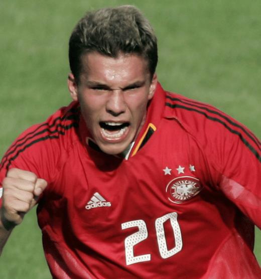 Lukas Podolski Deutschland Trikot