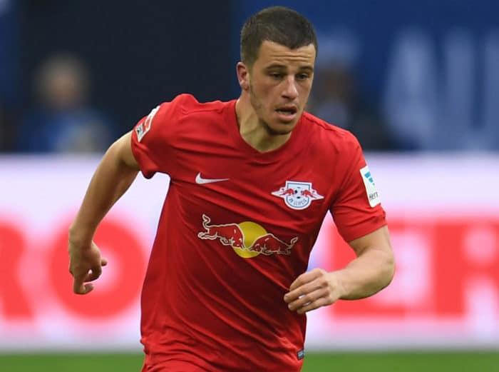 Diego Demme von RB Leipzig: einer von gleich 6 Neulingen im DFB-Kader.- (Foto AFP)