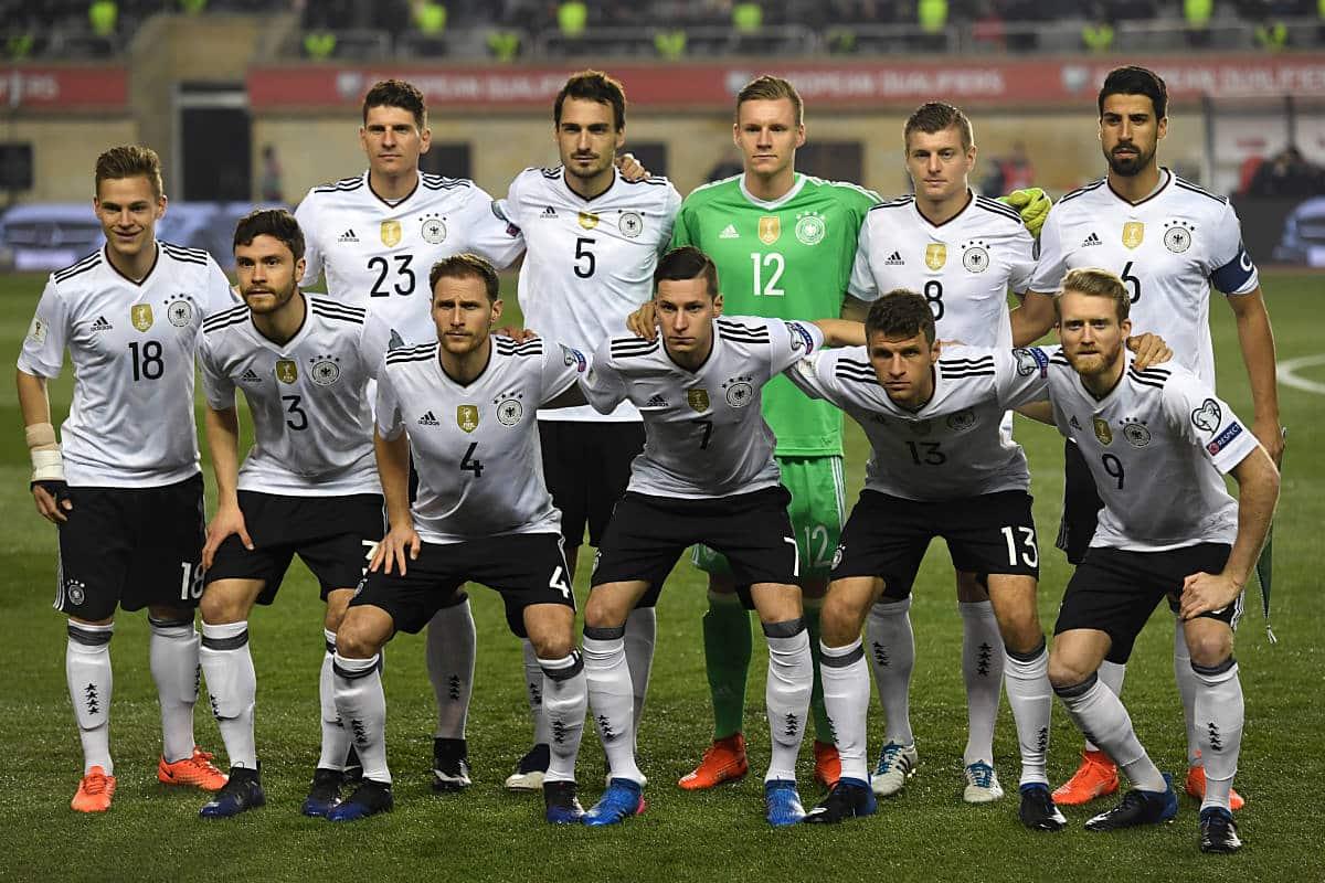Der Confed Cup 2017 Kader von Deutschland. (Foto AFP)