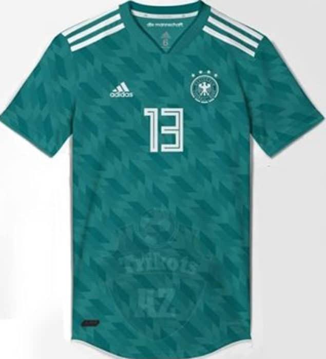 Das neue Deutschland AwayTrikot 2018!
